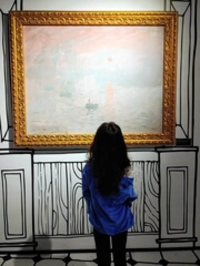 Crianças podem se divertir com artes?